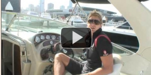 Nick Riewoldt enjoys the Pleasure Cruising Club